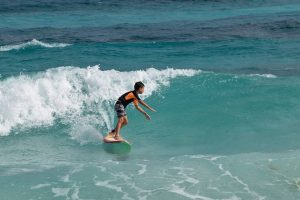 cozumel surfing for kids