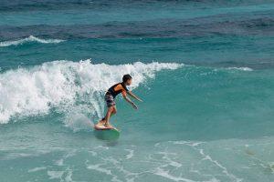 cozumel surfing for kids