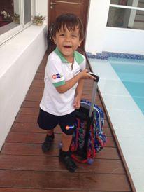 first day of kindergarten cozumel