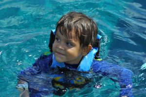 water child cozumel